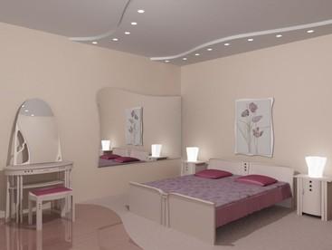 потолки спален