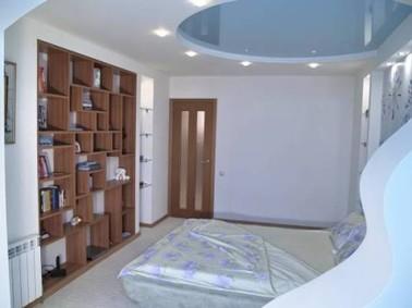потолок в спальне